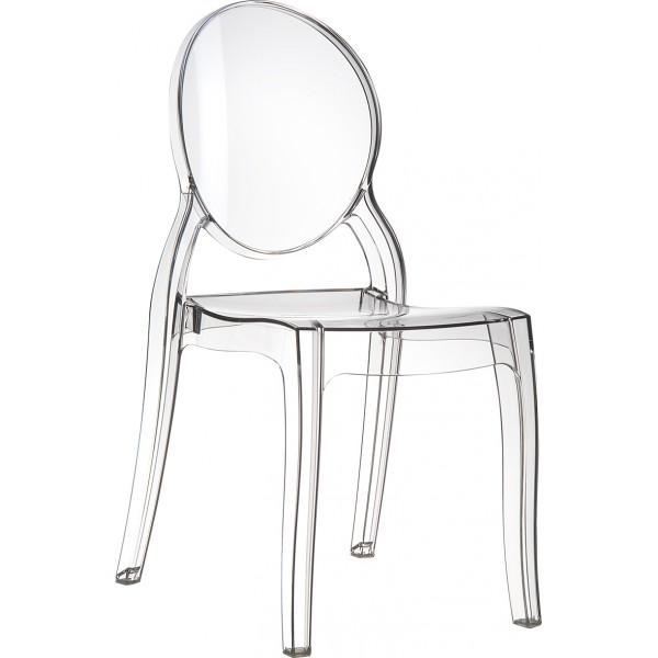 chaise transparente la discr te. Black Bedroom Furniture Sets. Home Design Ideas