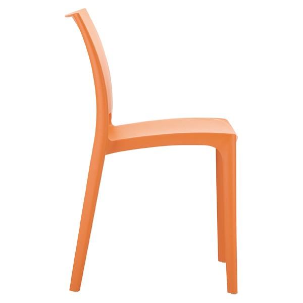 chaise orange design. Black Bedroom Furniture Sets. Home Design Ideas